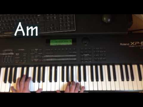 Aleluya Gloria aleluya - Intro y acordes tutorial piano