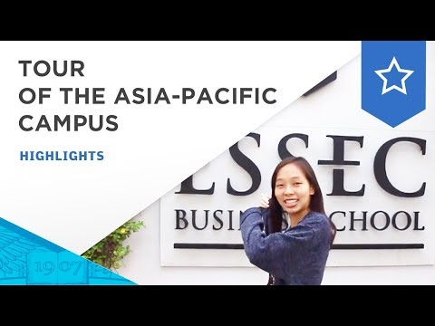 Tour of the ESSEC Asia-Pacific campus | ESSEC Highlights