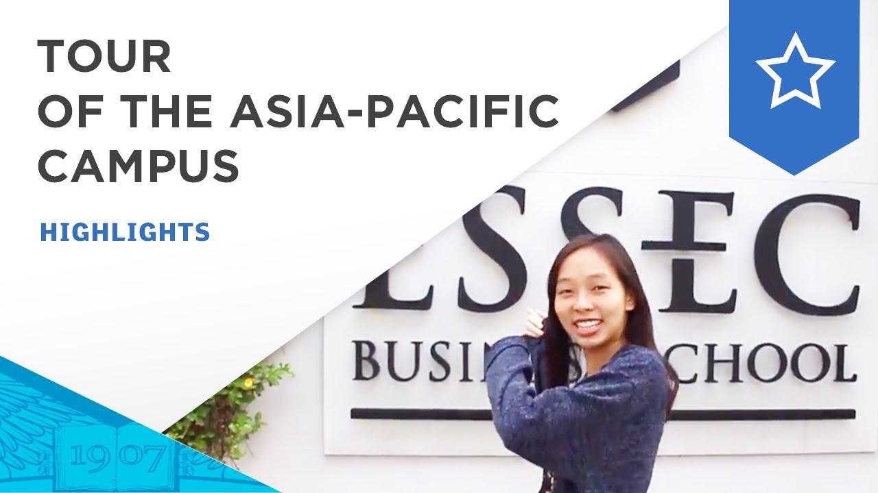Tour of the ESSEC Asia-Pacific campus | ESSEC Highlights