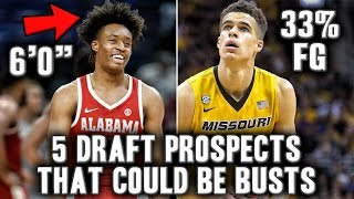 5 Prospects From The 2018 NBA Draft That Could Be Busts