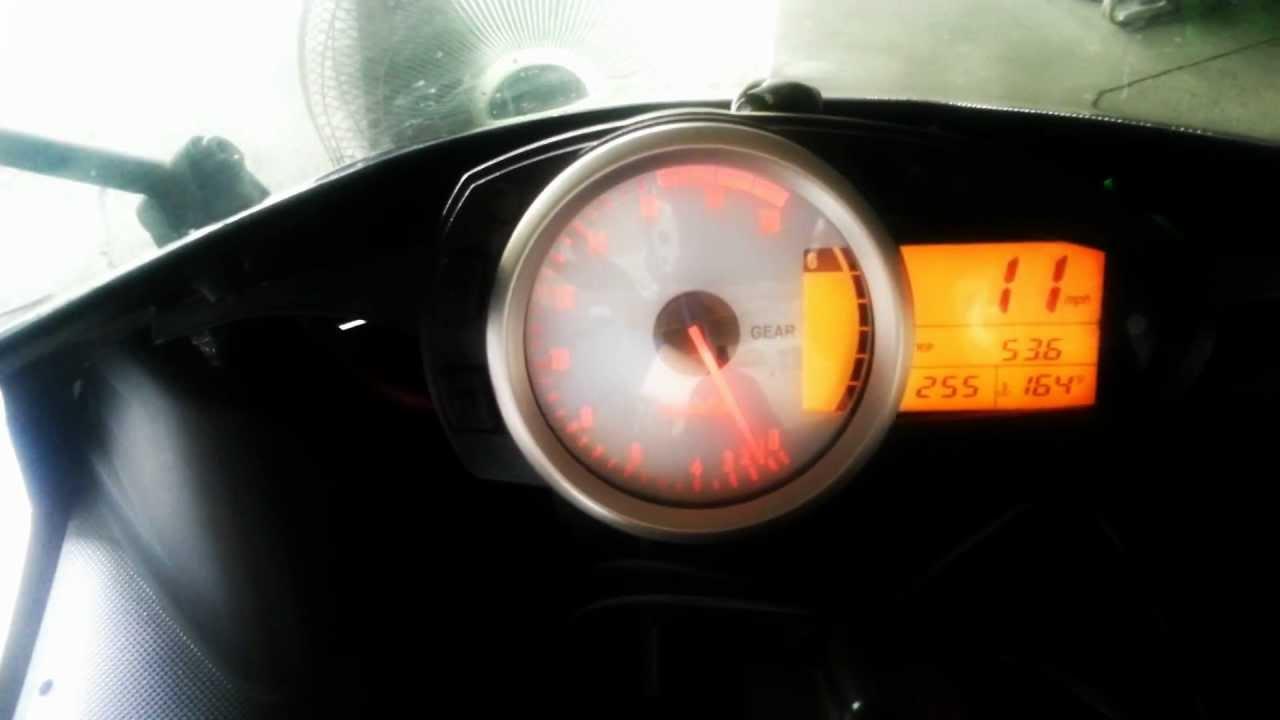 2007 zx6r top speed test