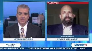 Malzberg   Kevin D. Williamson, roving correspondent for National Review Online