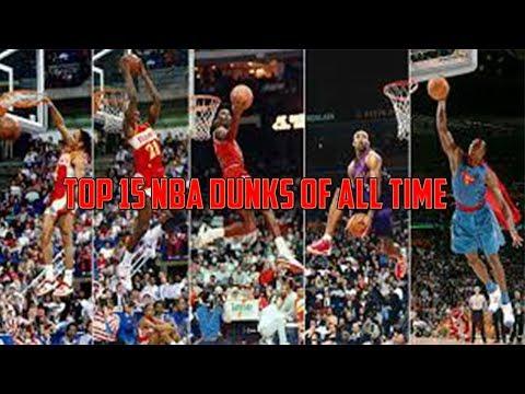 Top 15 NBA Dunks Of All Time! (Michael Jordan!)