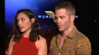 Wonder Woman Interview: Gal Gadot + Chris Pine
