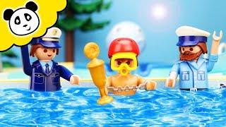 Playmobil Polizei - Sprungturm Party im Schwimmbad - Playmobil Film
