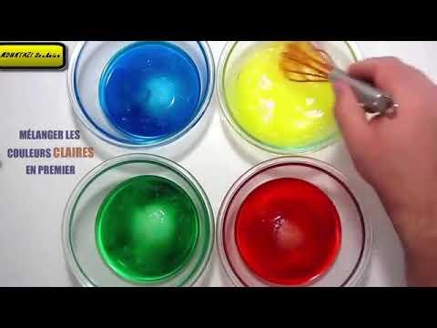 pâte à modeler très facile. Comment faire de la pâte à modeler ? - YouTube