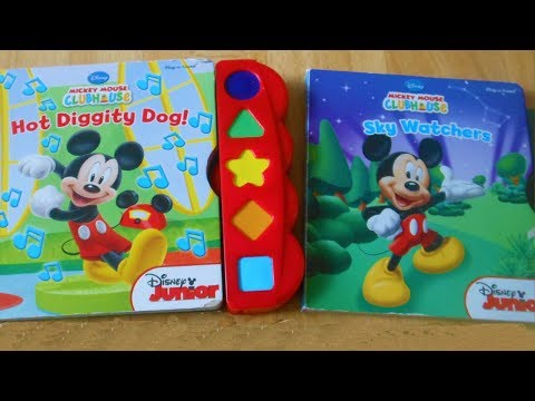 Mickey Mouse Clubhouse Book Play-a-Sound Set