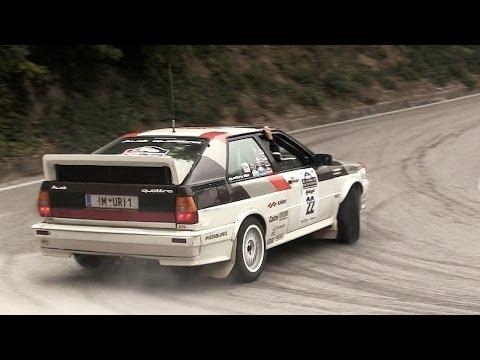Audi Quattro Group B - 5-Cylinder Engine Sound