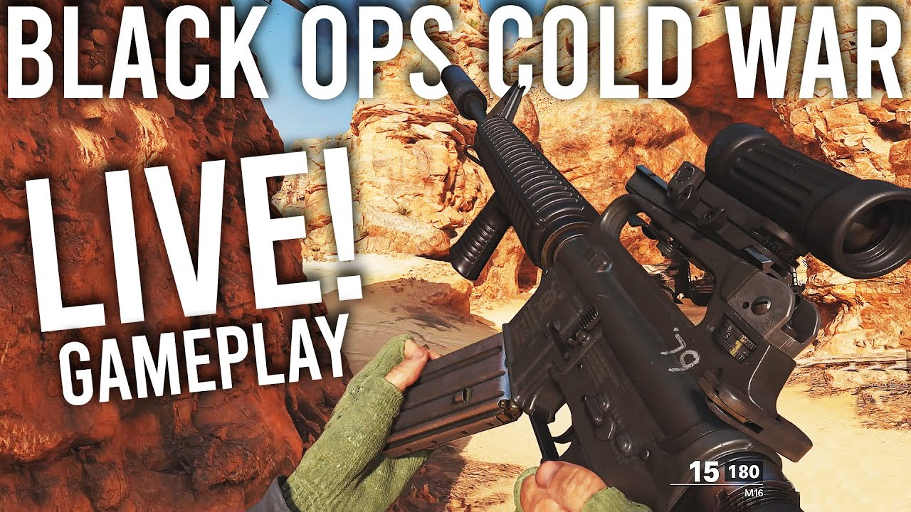 Call Of Duty Black Ops Cold War Multiplayer Gameplay Live Youtube