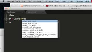 PHP - enviar formulario html a PHP (tutorial basico)
