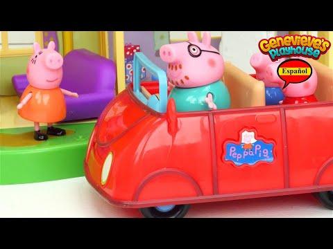 ¡Aprende los Palabras con Casa de Peppa Pig! ¡Video para Niños!