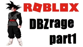 WE WENT KIAOKEN - Goku Black plays DBZ RAGE - roblox