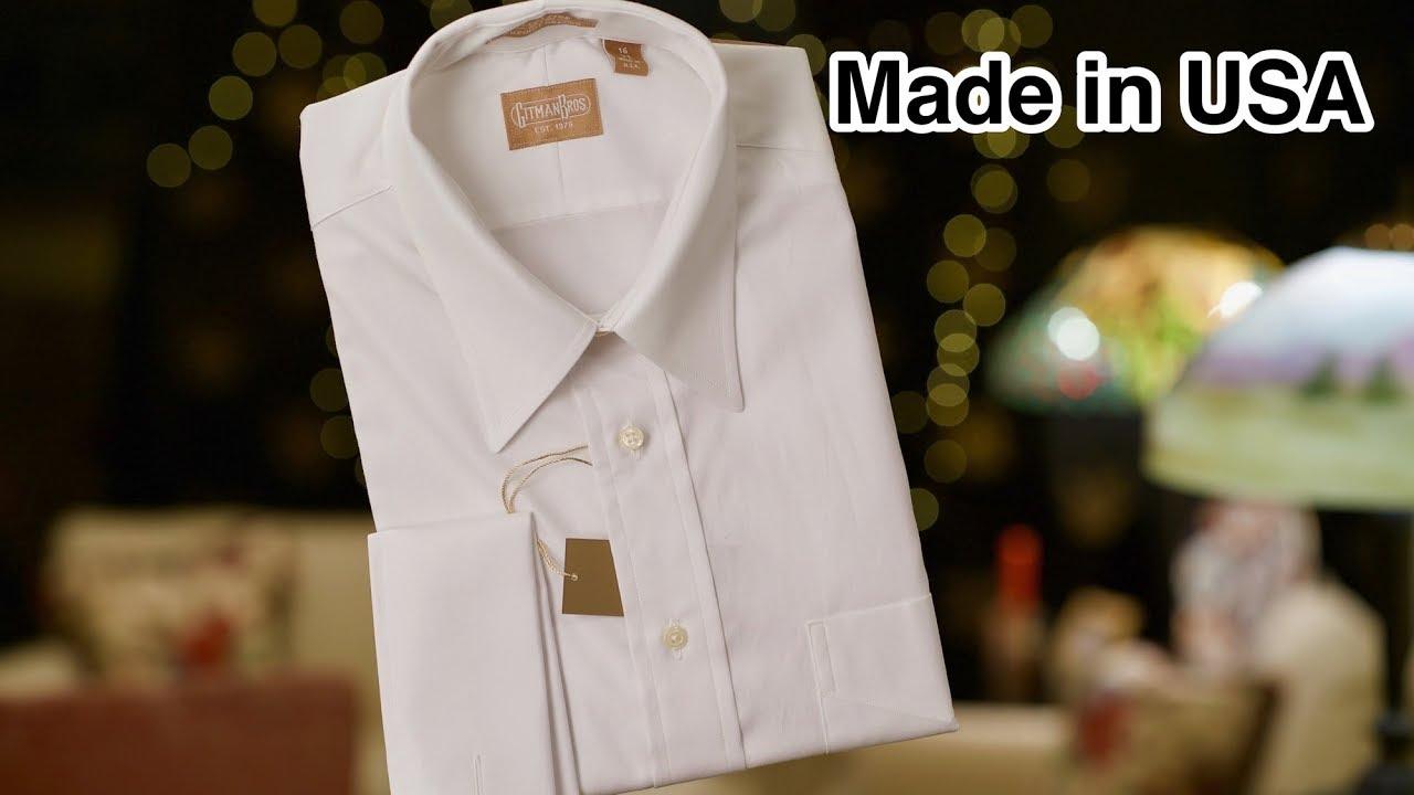 Gitman Bros Shirts Made In Usa Youtube