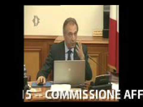 dr. Roberto Gava, audizione Camera dei Deputati 9-11-2015  e domande dei commissari