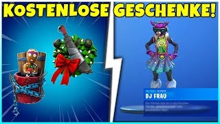 🎁 THIS FREE GIFTS WE GET! Skins, emote, pickaxes and more! - Fortnite
