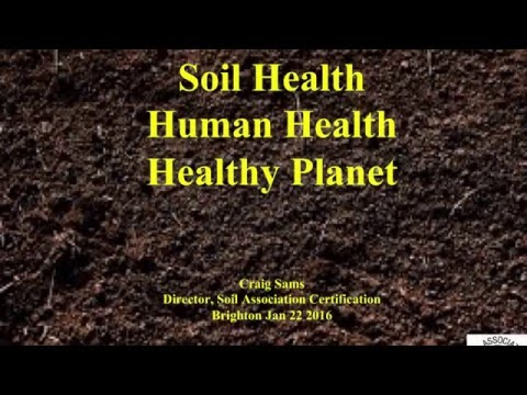 Part 1: Healthy Soil, Healthy People, Healthy Planet - a talk by Craig Sams