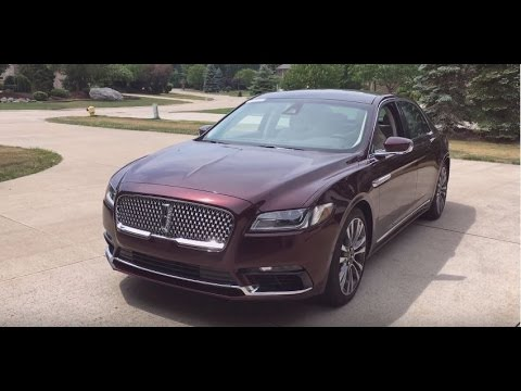 FIRST EVER REVIEW- 2017 Lincoln Continental Walkaround And Review (1080p, 60fps)