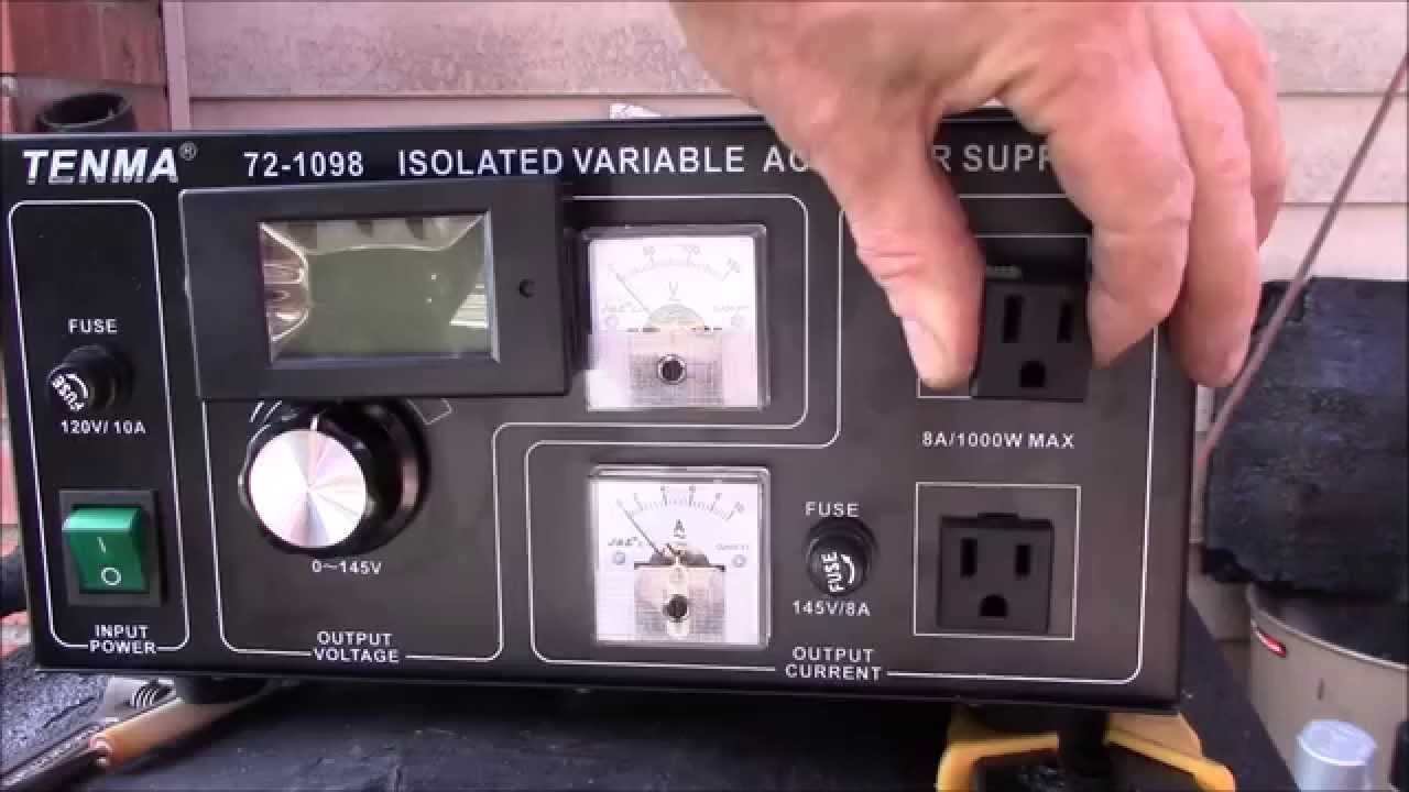 Tenma 72-1098 Isolated Variable Power Supply, Upgrades