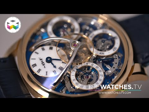 UNBOXING The Legacy Perpetual By MB&F
