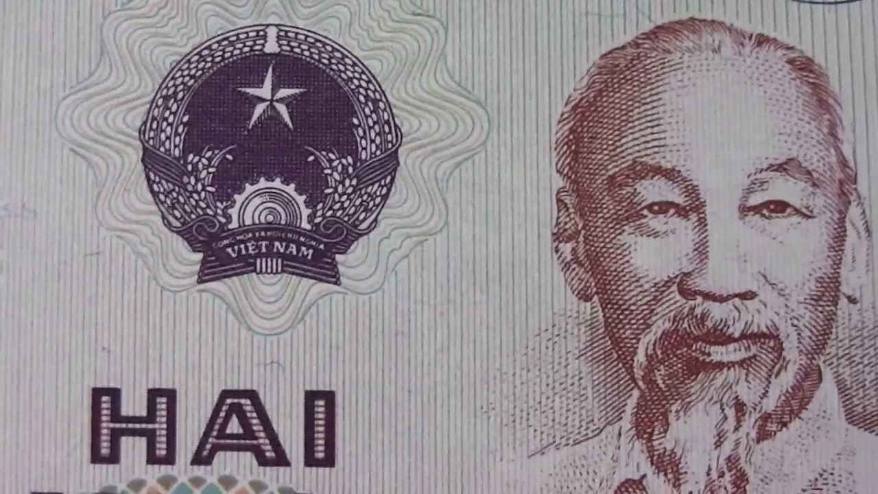 The 20 Hai Muoi Dong Banknote Of Vietnam From 1985