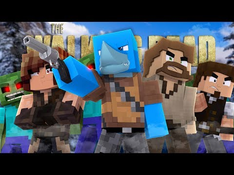 THE WALKING DEAD S2 - SHARKY THE FIRST EPISODE - Minecraft (Custom Roleplay)