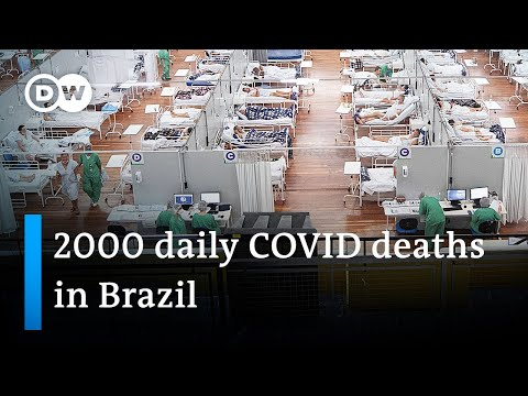 Coronavirus variant leads to surging death toll in Brazil | DW News
