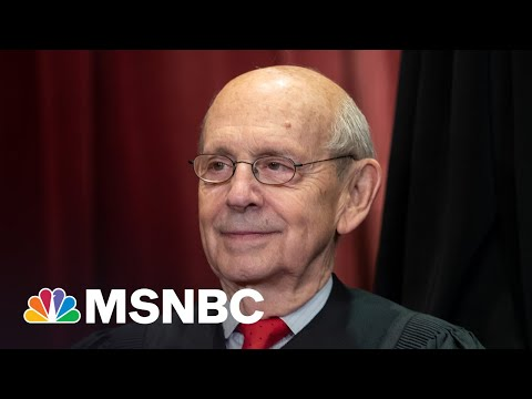Calls For 82-Year-Old Justice Breyer To Retire After Ginsburg Outcome | All In | MSNBC