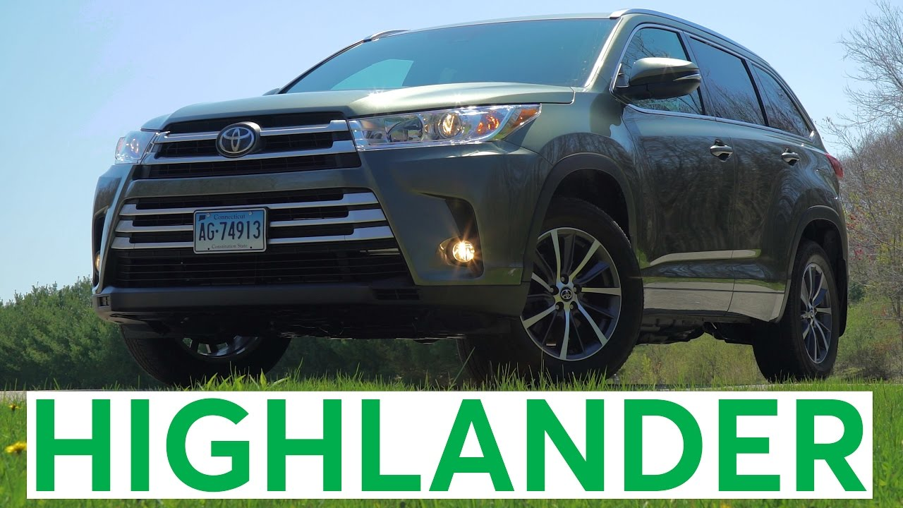 4k Review 2017 Toyota Highlander Quick Drive Consumer Reports