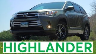 4K Review: 2017 Toyota Highlander Quick Drive | Consumer Reports