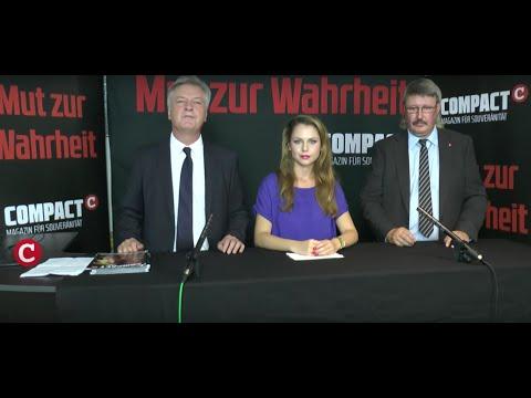 Aufzeichnung: COMPACT TV-Wahlstudio aus Schwerin