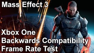 Mass Effect 3 Xbox 360 vs Xbox One Backwards Compatibility Frame Rate Test