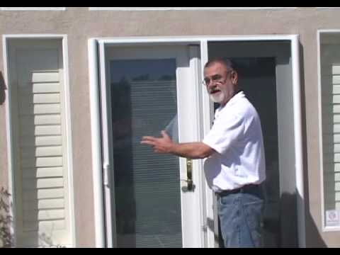 Clearview retractable screen doors youtube for What is the best retractable screen door