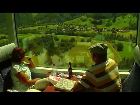 По Швейцарии на поездах