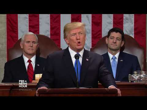 Watch President Trump's 2018 State of the Union Address Spec