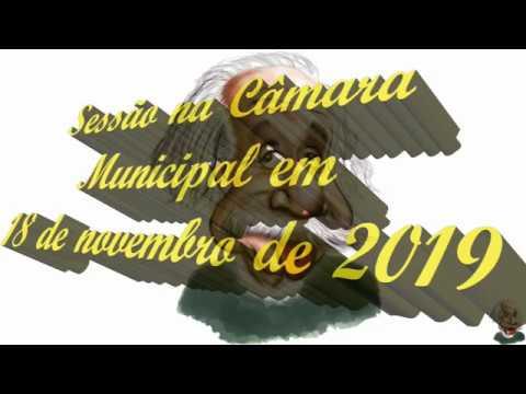 Sessão na Câmara de Vereadores de Iporã-PR, de 18 de novembro de 2019.