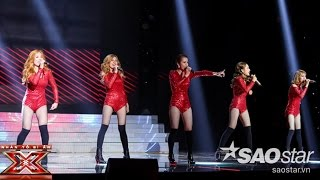 get high  nhom s-girls liveshow 3 the x factor - nhan to bi an 2016 ss2