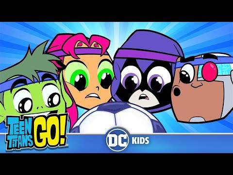 Teen Titans Go! | Sports Day! | DC Kids