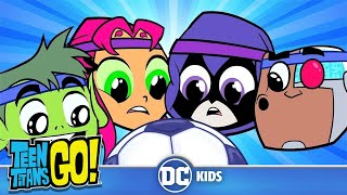 #StayHome Teen Titans Go! | Sports Day! | DC Kids