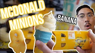 McDonald's Minion themed food and #TodayAtApple - Vlog #33