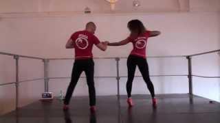 Видео: Bachata show style - Ataca y La Alemana - Croatian Summer Salsa Festival 2013
