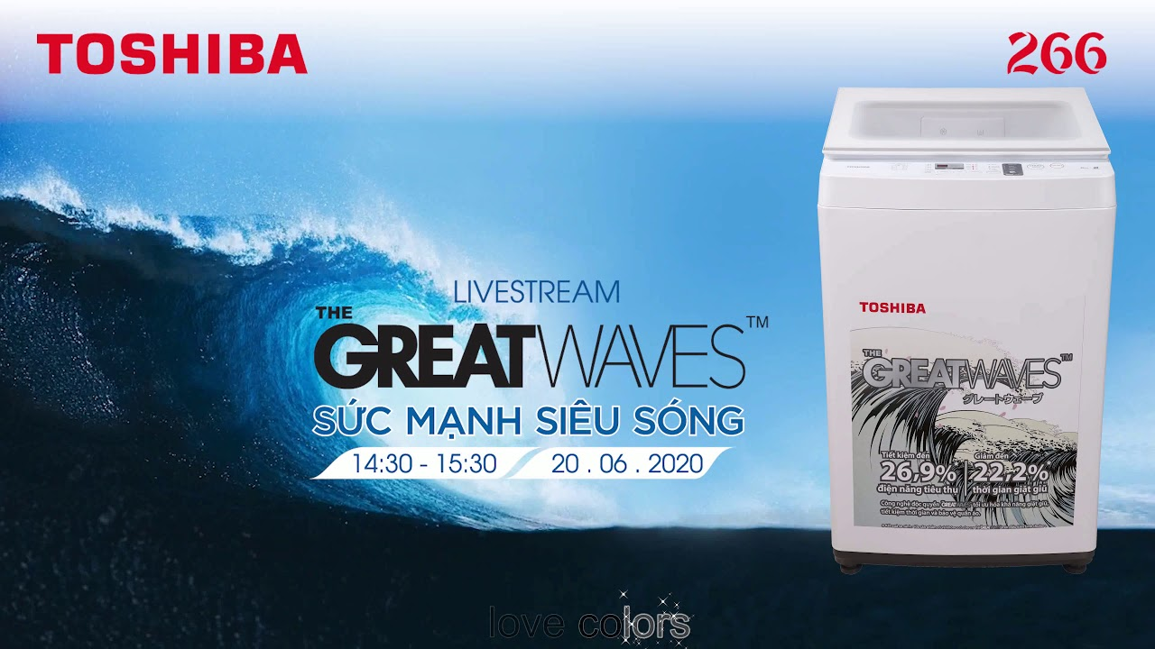 The Great Waves ( LS Toshiba-266) - YouTube