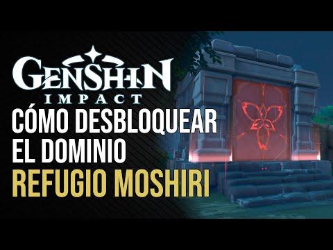 Genshin Impact - Cómo desbloquear el Dominio Refugio Moshiri - Actualización 2.2