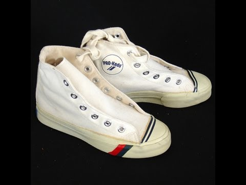 white high top pro keds