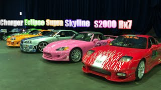 """FAST&FURIOUS"" PRIVATE CAR COLLECTION !! (original moviecars)"