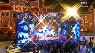 Новый год на красной площади 2014