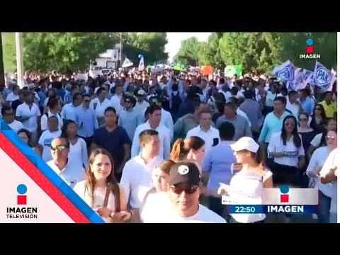Marchan en Coahuila por supuesto fraude electoral | Noticias con Ciro Gómez Leyva