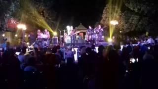 KLa Project Bawakan Lagu Yogyakarta dalam Mini Concert di Taman Museum Keraton Kasunanan Surakarta