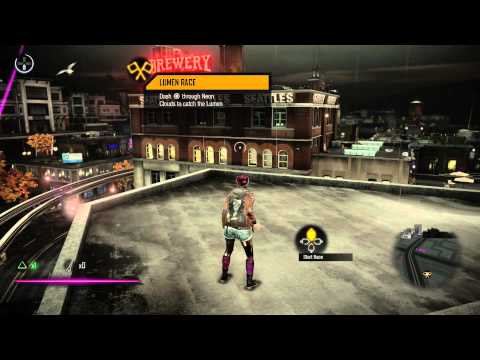 inFAMOUS First Light Free Roam Gameplay - No Commentary (PS4)