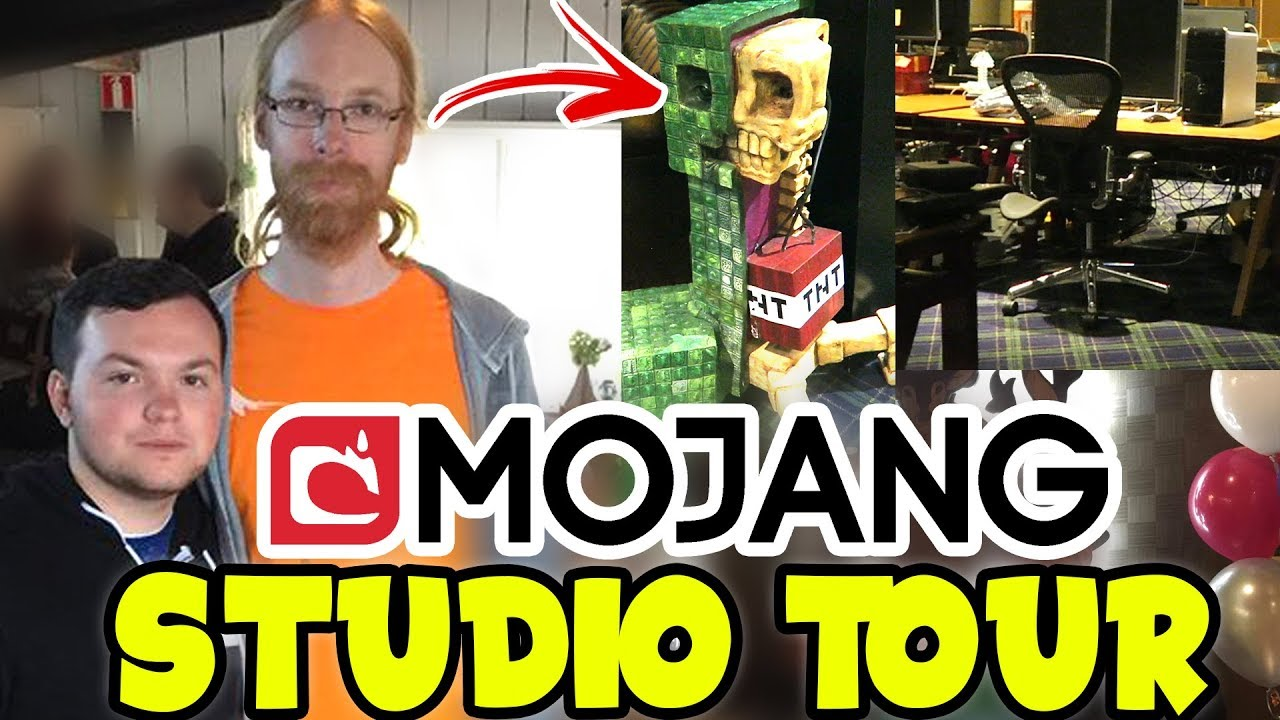 Mojang OFFICE TOUR with DEVELOPERS of Minecraft - YouTube