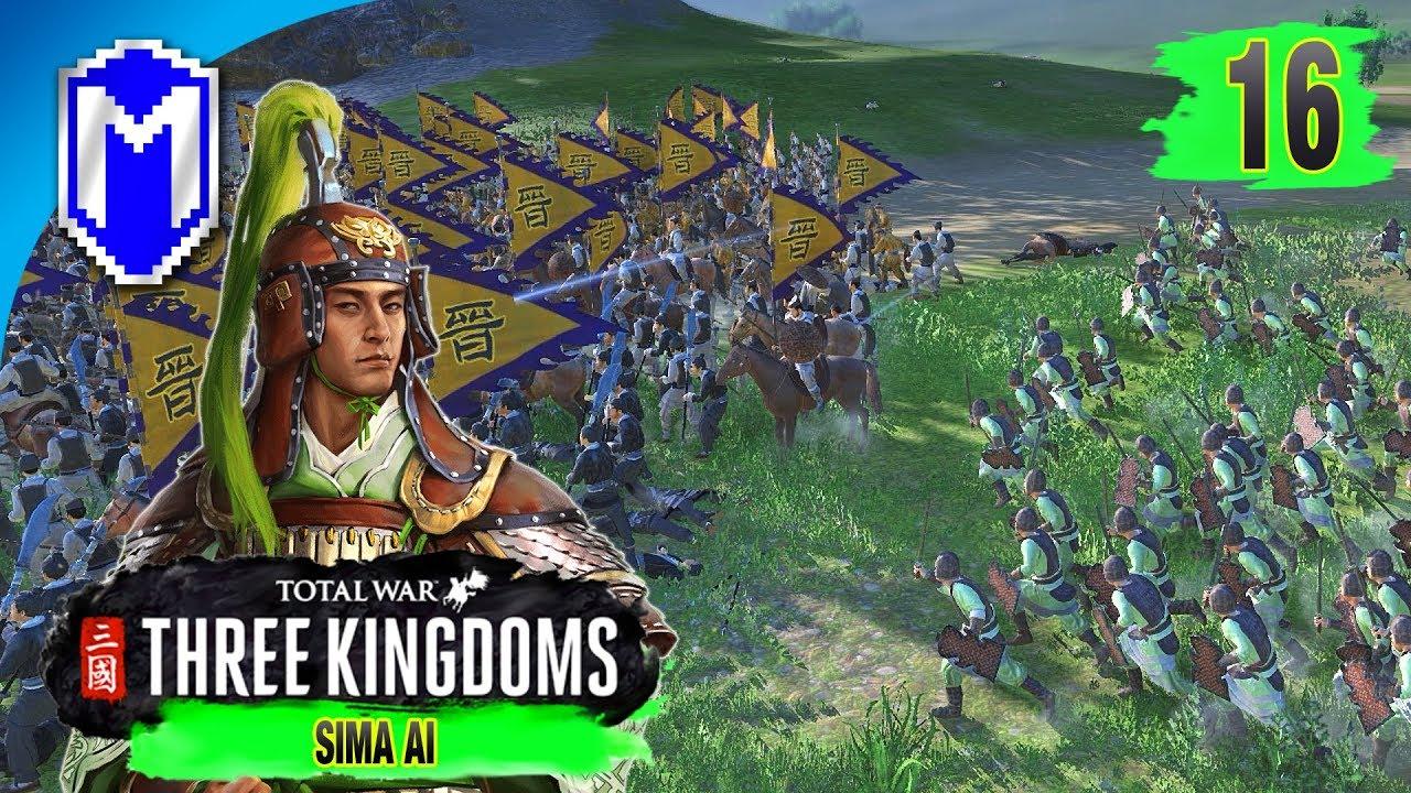 Trade Port Defense - Sima Ai - Eight Princes Records Campaign - Total War:  THREE KINGDOMS Ep 16